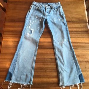 Vintage Distressed Express Jeans